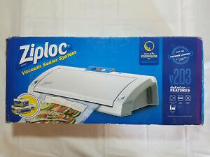 Ziploc V203 Vacuum Sealer System White Ebay
