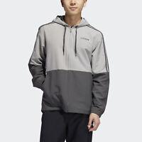 Deals on Adidas Mens Essentials 3-Stripes Windbreaker