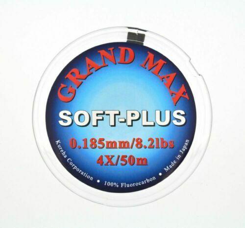 environ 2.99 kg SUPERBE SEAGUAR RIVERGE Grand Max Soft Plus Fluorocarbone 250 M 6.6 Lb