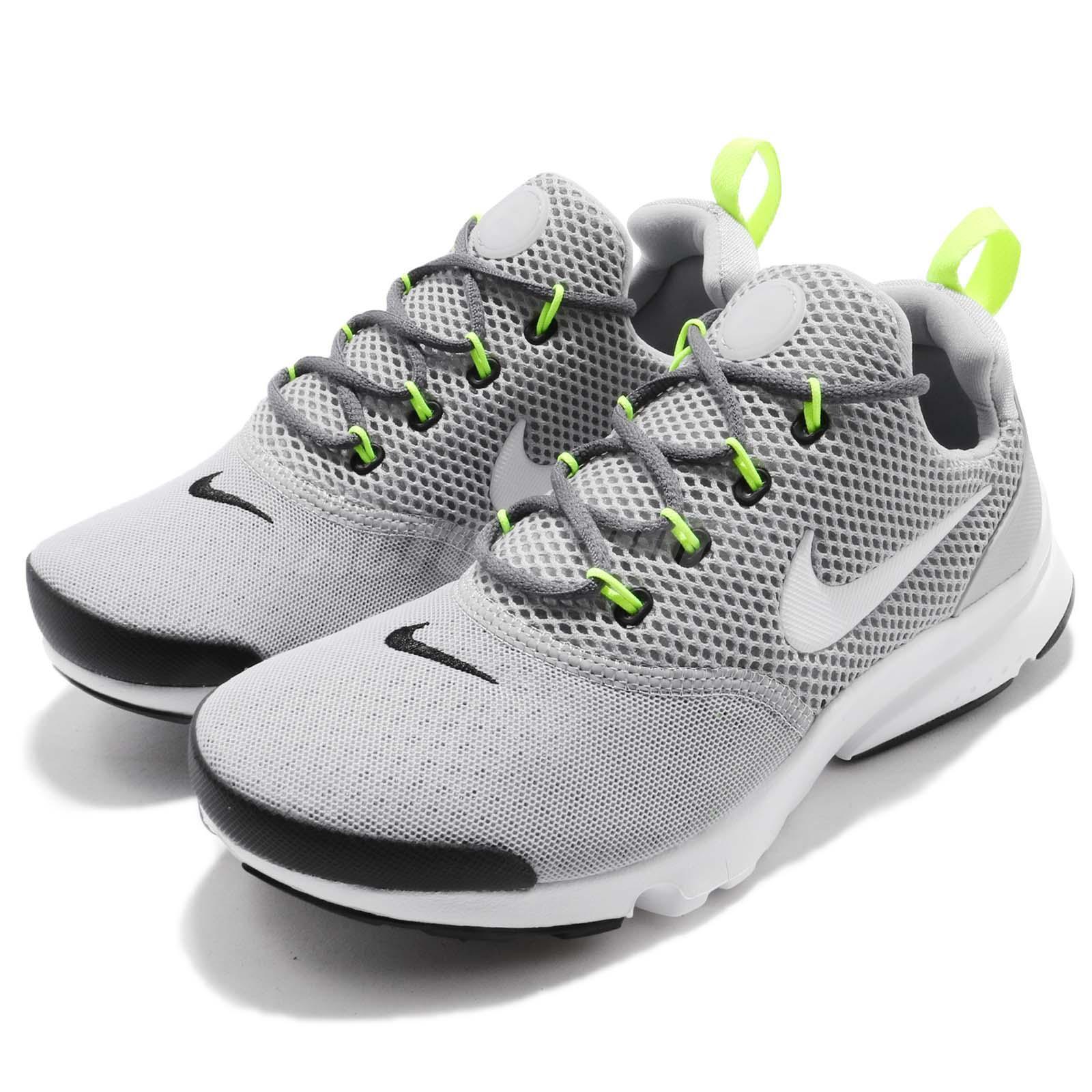 Nike Presto Fly GS Wolf grå grå grå ungar Youth kvinnor springaning skor skor 913966 -009  100% passform garanti