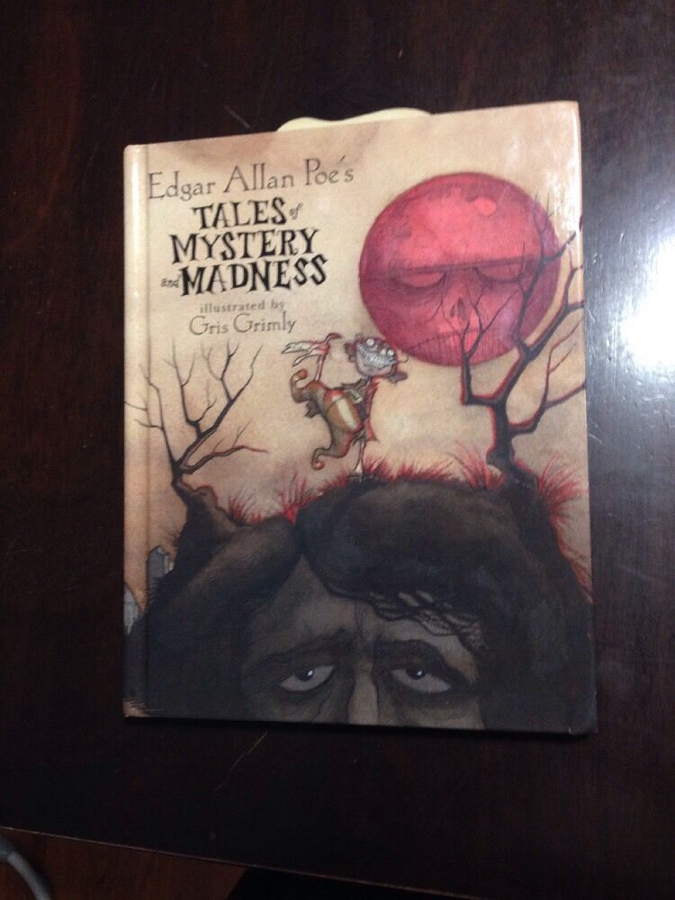 Edgar Allan Poes Tales Of Mystery And Madness By Edgar Allen Poe