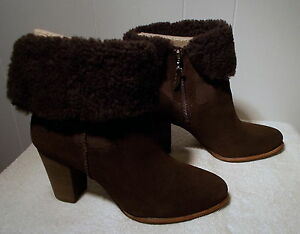 f48a5ec2d85 Details about NEW UGG Boots CHARLEE Lodge Brown Women's Size 8.5