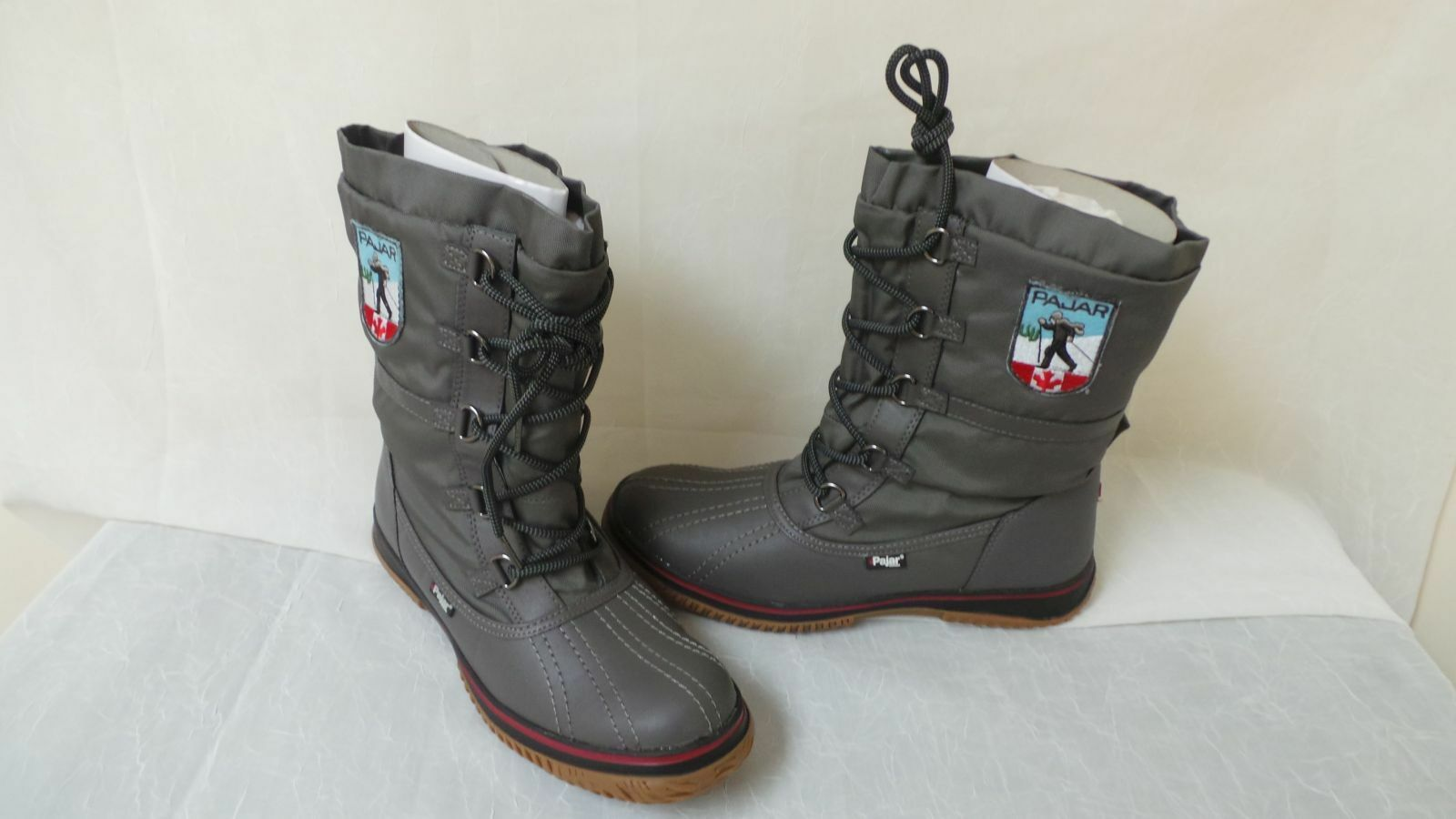 New! Pajar Womens Grip Low Low Grip Winter Boots-Size 11-Gray   W137    la 40cc58