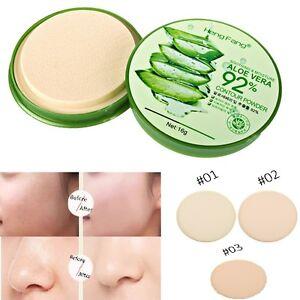 15g Aloe Kompaktpuder Puder Make up GesichtPuder Pressed Compact Powder Cjcj*`