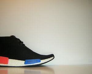 pretty nice c66d2 deadc Details about Adidas OG NMD C1 Chukka Boost Black Red Blue Trainer Sz 10  Ultra White R1 S79148