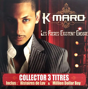 K-maro-CD-Single-Les-Freres-Existent-Encore-Limited-Edition-France-EX-EX