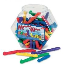 Set of 72 Measuring Worms Manipulative Set Pre-K Special Needs Autism