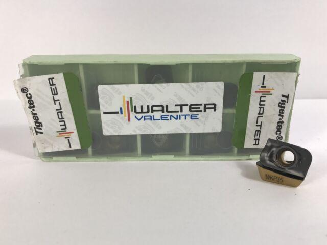 WALTER ADMT160632R-F56 New Carbide Inserts Grade WKP35 10pcs AH