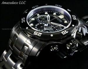 NEW-Invicta-Mens-Combat-Pro-Diver-Scuba-VD53-Chronograph-Stainless-Steel-Watch