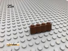 Lego 8 x Stein Steine 1x4 tan 30137 Palisade für Set 5988 3053 7621 ...