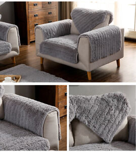 pl sch warm sofabez ge antirutsch sofabezug sesselbezug sofa decke matte home ebay. Black Bedroom Furniture Sets. Home Design Ideas