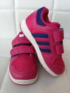 Details zu adidas Baby Sneakers Sport Schuhe Halbschuhe Klettverschluss pink Größe 23 Neu