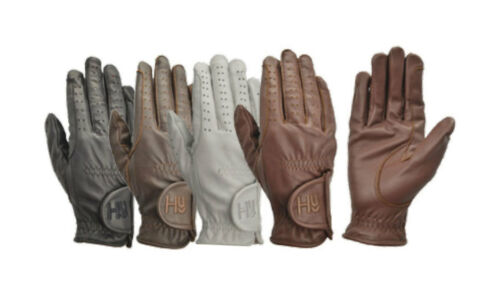 Hy5 Kinder Leder Reitstiefel Handschuhe Verschiedene Farben Reiter Reiten