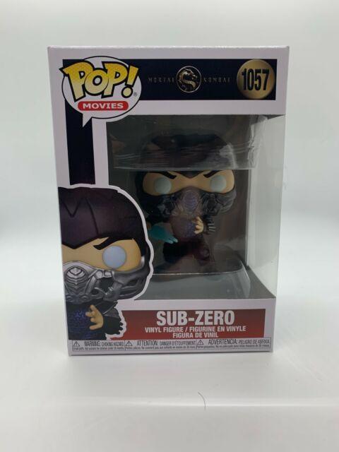 Funko Pop! Movies - Mortal Kombat - Sub-Zero #1057 MINT IN STOCK w/ Protector