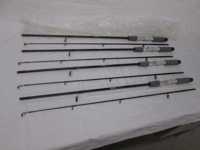 4 Vintage NOS Dolphin UL4 Graphite Composite Ultra Light 5' 2pc Rods