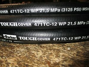 "PARKER HYDRAULIC HOSE 471TC-8 1//2/"" 100/' TWO WIRE HOSE 100R16"