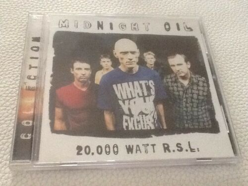 1 of 1 - Collection 20,000 Watt R.S.L. by Midnight Oil CD Near New Best Of Hits Type Disc