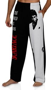 Boxer Shorts and Pants 2 Pieces Sets Scarface Tony Montana Mens Pajama Pants Loungewear