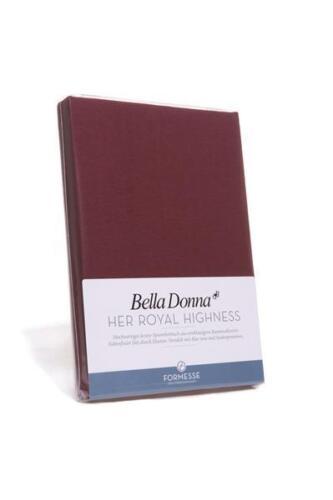 Spannbettlaken 90x190 bis 100x220 Bella Donna Jersey Wasserbett Spannbetttuch
