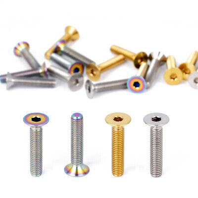 1PC Titanium alloy  C Clamp Nut Screw for road bike Mountain Bicycle