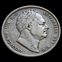 1836 William IIII Milled Silver Half Crown – VF #2