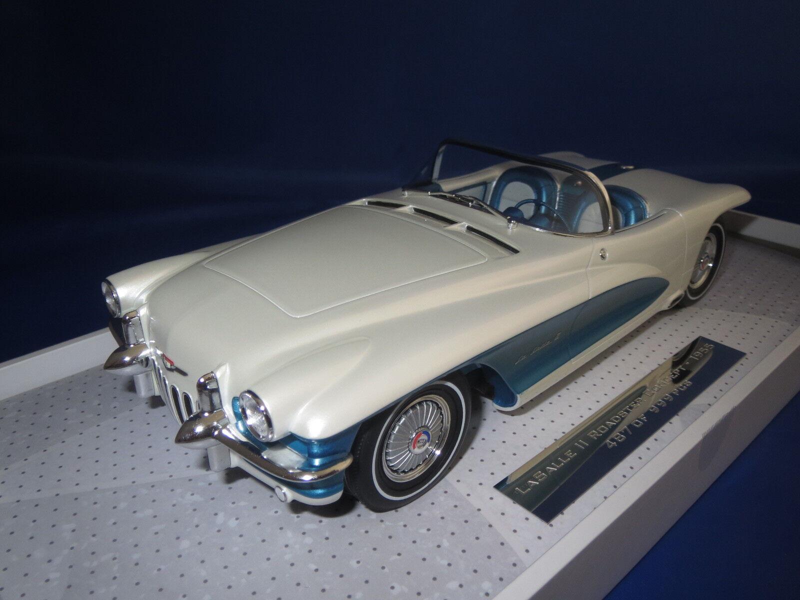 Minichamps 1955 General Motors LaSalle II roadster concept 1 18 OVP