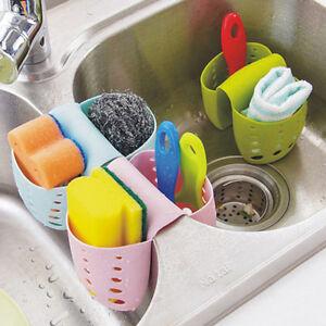 Great-Kitchen-Sink-Tidy-Holder-Sponge-Brush-Bathroom-Washing-Organizer-Drainer