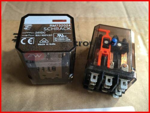 RM732024 Power Relay 16A 400VAC 11 Pins x 2pcs