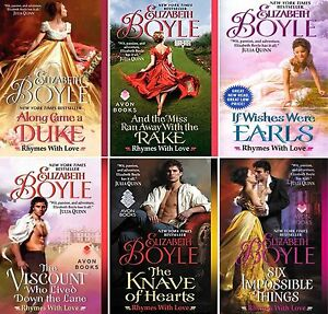 Rhymes-with-Love-Series-Collection-Set-Books-1-6-Mass-Paperback-Elizabeth-Boyle