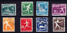 Nederland Netherlands 212-219  Olympische spelen 1928 Olympics  gestempeld