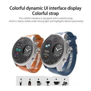 Smart-Watch-Bracelet-Heart-Rate-Sleep-Monitor-Pedometer-Fitness-Dual-Display-Fit