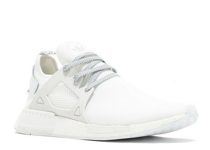 Adidas Originals NMD_XR1 Triple White 3M Laces BY3052 Nomad Boost Running Men's