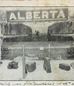 Postcard-1908-Exhibition-At-The-Fair-Alberta-Canada-Vintage-P23