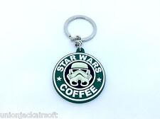 Star Wars Coffee PVC Keychain Keyring Glow In The Dark Storm Trooper