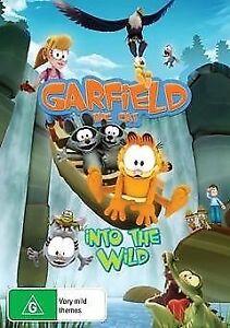 Garfield-the-Cat-Into-the-Wild-DVD-NEW-Region-4-Australia