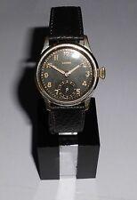 Caballeros vieja ⌚ Silvana Kal. 1575 militäruhr 40er vintage funcionan WW II 2 reloj