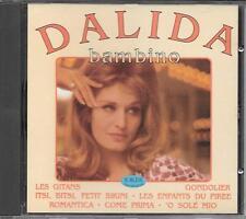 """DALIDA - RARO CD FUORI CATALOGO 1992 CON BRANI IN ITALIANO """" BAMBINO """""""