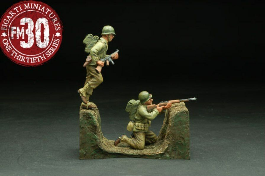 Figarti Zinn WW2 Amerikanische ETA-024 Advance Set MIB