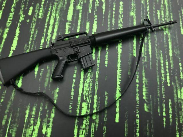 Hot Toys Neo the Matrix MMS466 M16 SP1 fusil d/'assaut loose échelle 1//6th