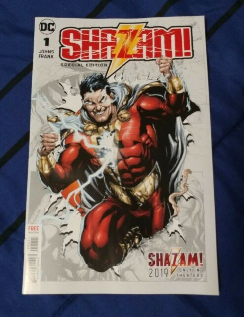 NYCC 2018 Shazam Special Edition Comic Book Comics New York Comic Con 2018