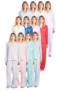 Casual-Nights-Women-039-s-Long-Sleeve-Floral-Pajama-Set