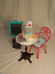 American-Girl-Grace-039-s-Bistro-Set-New-In-Box-Retired