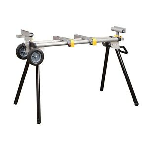 Heavy Duty Rolling Folding Adjustable Miter Saw Tool Table
