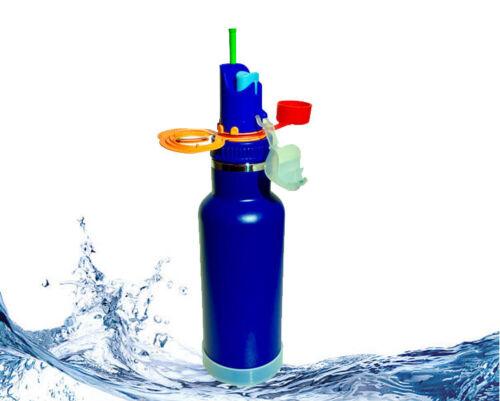 Vélo bouteille (Bleu) - isolé Sports Eau meilleure bouteille jamais ™