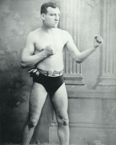 MYSTERIOUS BILLY SMITH 8X10 PHOTO BOXING PICTURE