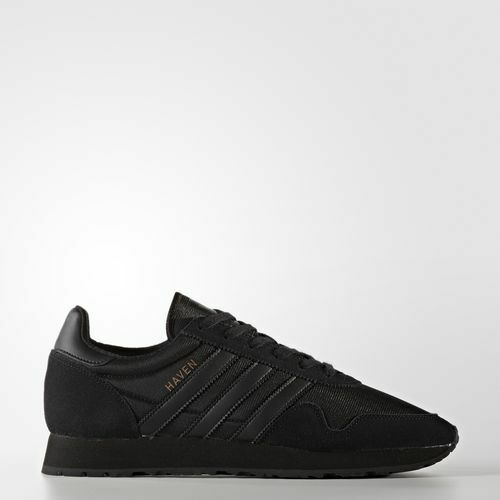 Adidas BY9717 Men Haven Vintage Running shoes black sneakers