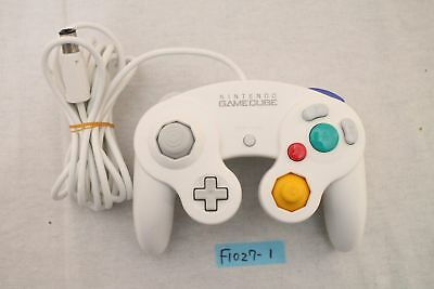 [Free track ship] Gamecube Controller white Nintendo official wii work Japan