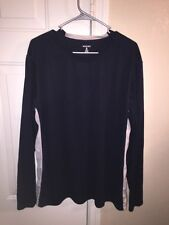 Men's Bugle Boy Long Sleeve T-Shirt Stretch Fit Athletic Size XL