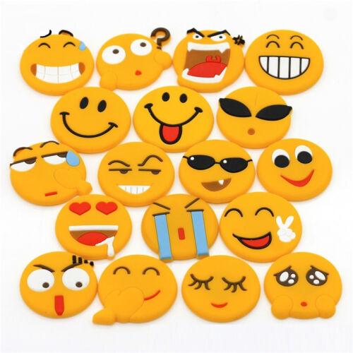 Emotion Cartoon Expression Fridge Magnet Decor Whiteboard Note Message Holder MC