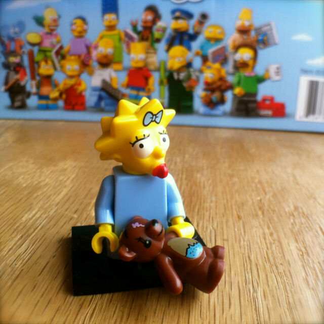 LEGO 71005 THE SIMPSONS Minifigures MAGGIE SIMPSON #5 SEALED Minifigs Series 1